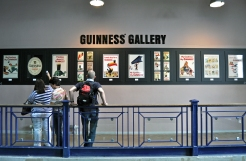 Guiness Factory advertisements