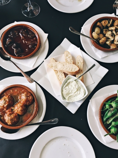 Tapas are the best thing about Spain