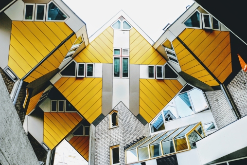 netherlands-rotterdam-cube-houses-exterior-architecture